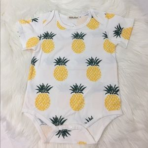 Other - Pineapple T-Shirt Onesie