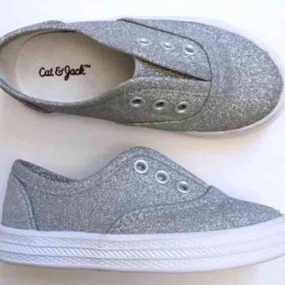 554e6bda5b Shoes | Cat Jack Toddler Girls Glitter Sneakers Size 6 | Poshmark