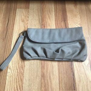 Handbags - Grey clutch