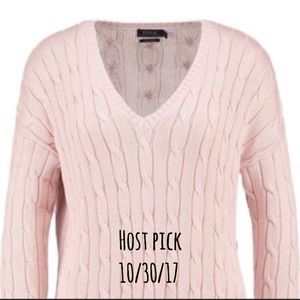 CLEARANCE Ralph Lauren cable knit sweater