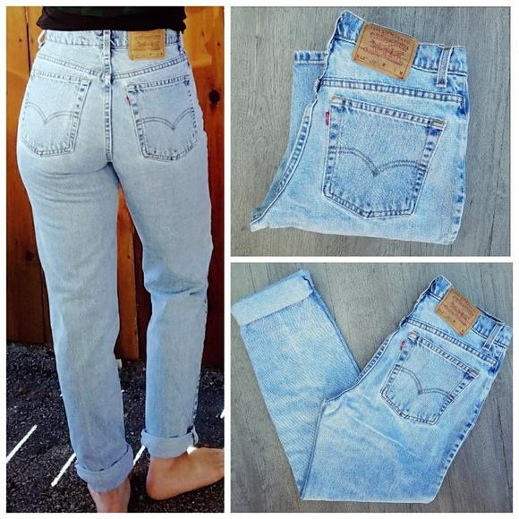 344b6491bd Levi's Jeans | Vintage Levis 512 High Waisted Mom | Poshmark
