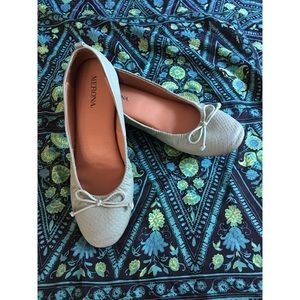 Shoes - Light Teal Flats