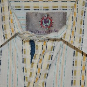 The Territory Ahead Shirts - Territory Ahead Men's Size L Long Slv Button Shirt