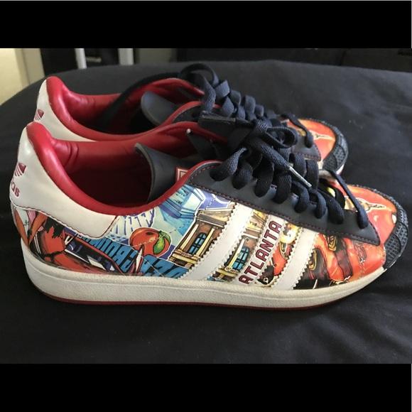 half off 1202b a6eaf Adidas Shoes - Adidas Originals Atlanta Half Shell Sneakers