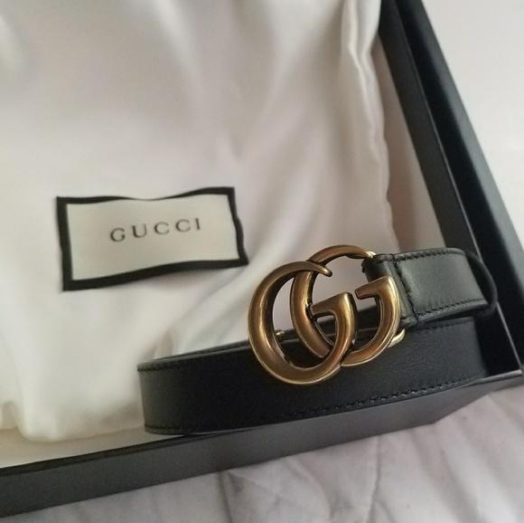 23de6e01df0 Gucci Accessories - Gucci GG marmont belt mini