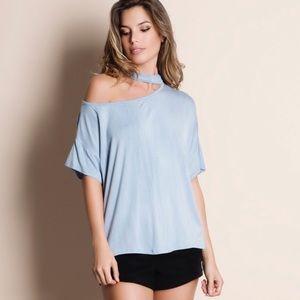 Tops - 🌺Choker one shoulder Top