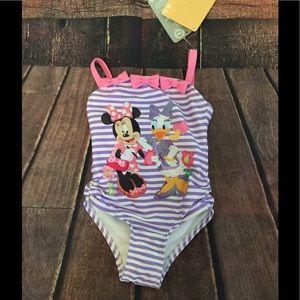 🆑😘 Disney Minnie Swimsuit Brand New 2T