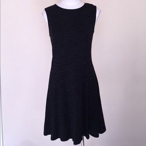 NEW Dark Gray Sleeveless Fit and Flare Dress NWT