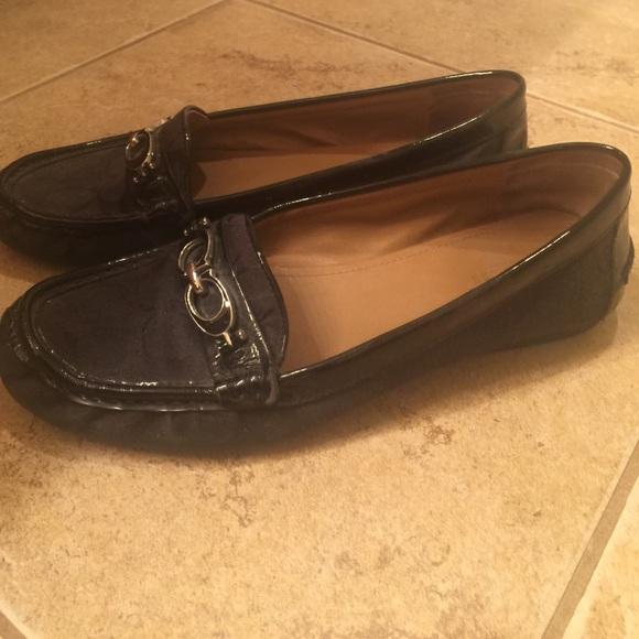 79% off Coach Shoes - Black coach loafers. Women's size 9 ...