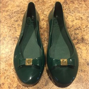 New! Tory Burch Jelly Ballet Flats! Size 7!