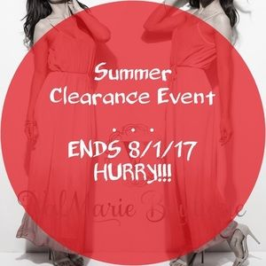 📍CLEARANCE 📍ends 8/1/17