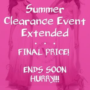 📍CLEARANCE 📍ends soon