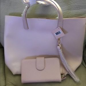 Handbags - Tote and wallet large pink New
