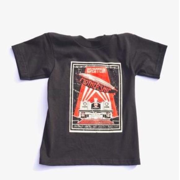 3607ca5b Shirts & Tops | Led Zeppelin Baby Infant Kid Toddler Children Tee ...