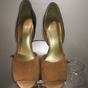Shoes - Levity Annie Women's sz 8.5 Brown Suede Heels