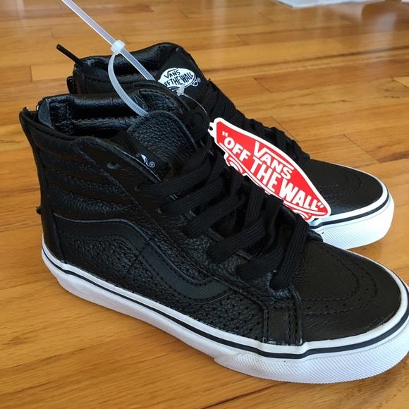 13ac7824d0 Kids: Vans Genuine Leather Hi-top Sneaker, Kids 14 NWT