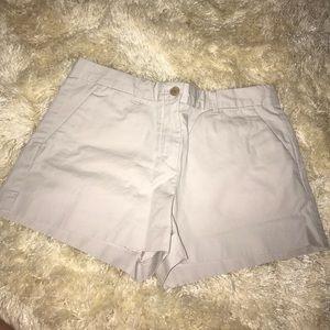 Light gray khaki shorts from the GAP