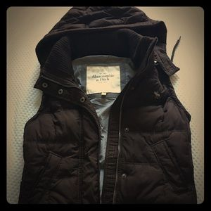 Abercrombie and Fitch Hooded Vest