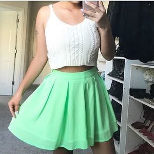 Dresses & Skirts - Mint green skirt