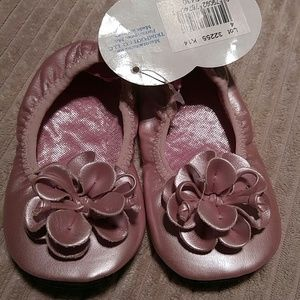 Super Cute Natural Steps pink slip on shoes