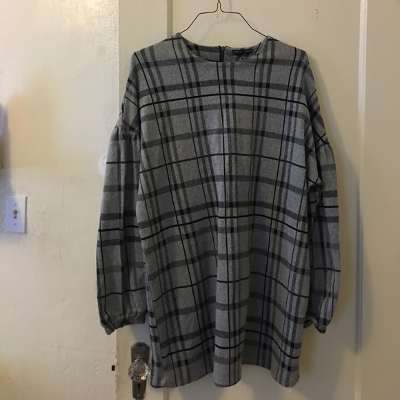 25 off zara dresses skirts zara plaid sweater dress from europe from tara 39 s closet on poshmark. Black Bedroom Furniture Sets. Home Design Ideas