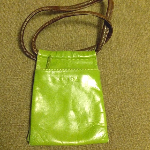 Cleo + Patek Handbags - Super Rare #CleoPatek Lime Leather #Crossbody Bag
