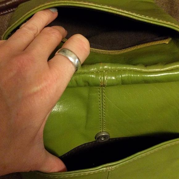 Cleo + Patek Bags - Super Rare #CleoPatek Lime Leather #Crossbody Bag