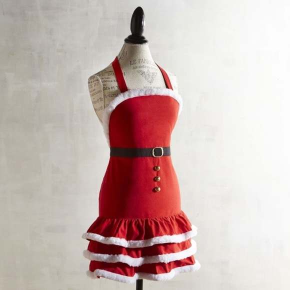 Pier One Christmas.Pier One Imports Mrs Claus Christmas Apron