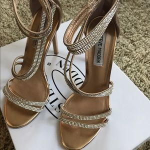 1f634756b7c Steve Madden Shoes - Steve Madden Sweetest Rose Gold Stiletto!