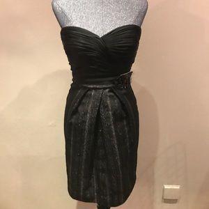 BCBG strapless cocktail dress