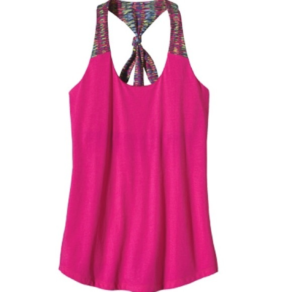 9a1332c0904 ... Patagonia Kamala Pink Tie Back Athletic Tank. M 596831abf0928239d701824e