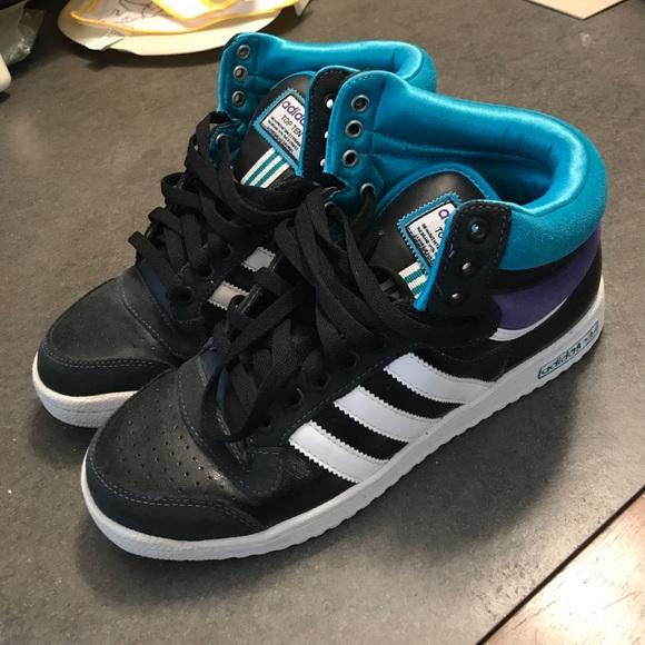 promo code 89fb0 fa758 adidas Other - Adidas Top Ten NBA High Top Sneakers 👟 8.5