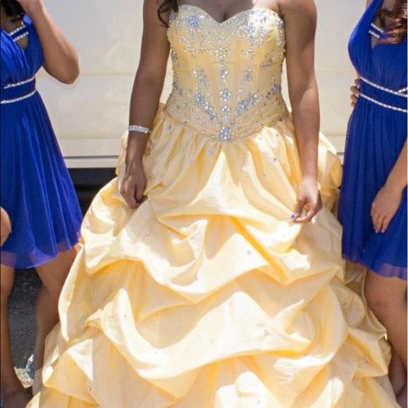 Dresses Sweet 16 Dress Beauty And The Beast Theme Poshmark