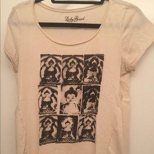 Lucky Brand Buddha T Shirt