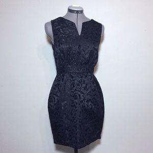 F21 Little Black Dress with Textured Print, unworn