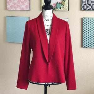 🌹NWT💋CHICO'S SULTRY RED JACKET U.S. SIZE 8/MED.