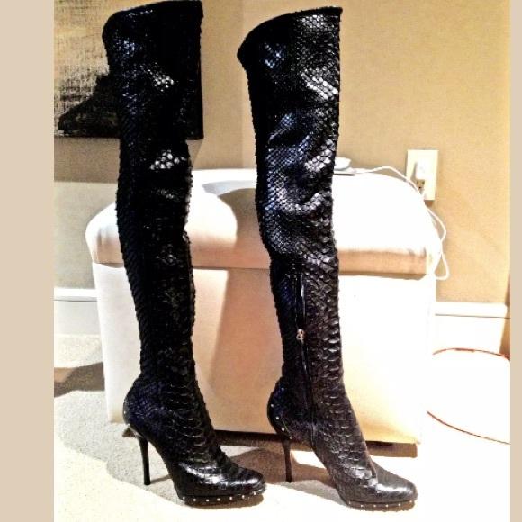 8f6af7ffd5c Gucci Shoes - Tom Ford Gucci Black Python OTK