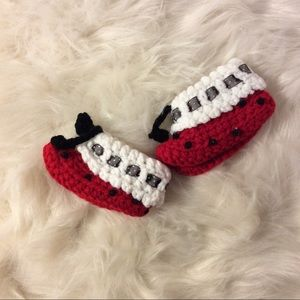 Other - Lady bug booties
