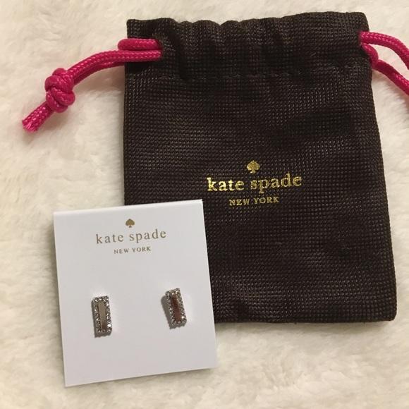 kate spade Jewelry - Kate Spade Raising the Bar Earrings