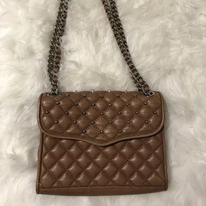 Rebecca minkoff Mini studded quilted affair bag
