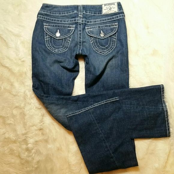 cbb5439dc Buy True Religion Bootcut Jeans Size 26 Gray Skinny Pants Women ...