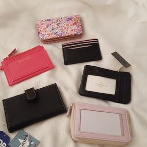Handbags - INDIVIDUALLY SOLD LEATHER MINI WALLETS