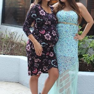 Gorgeous Floral Maternity Dress