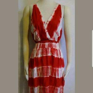 Dresses & Skirts - TIE DYE MAXI DRESS XL