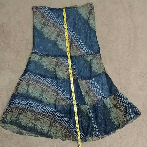 56 dress barn dresses skirts blue maxi