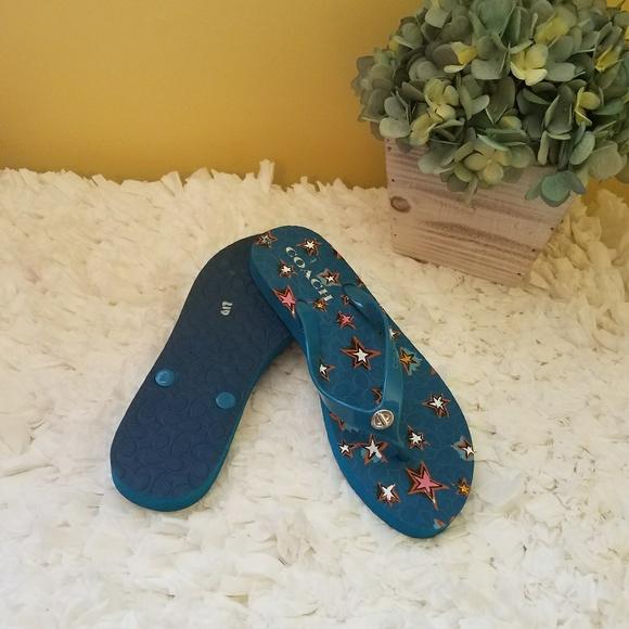 Coach Shoes - Coach Abbigail Flip Flop sz 8