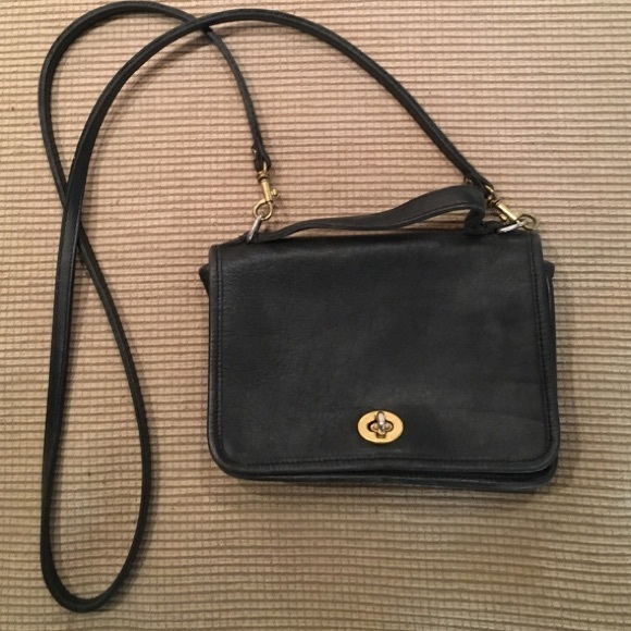 Coach Handbags - Small black Coach crossbody bag for tall ladies 7a40a2acb9b2