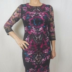 NEW Floral Lace Cocktail Dress