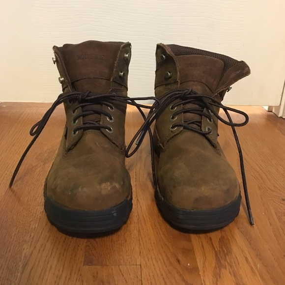 311e08d0d14 NWOT Wolverine men's steel toe work boot