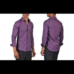Men's Slim Fitted Touch Shirt